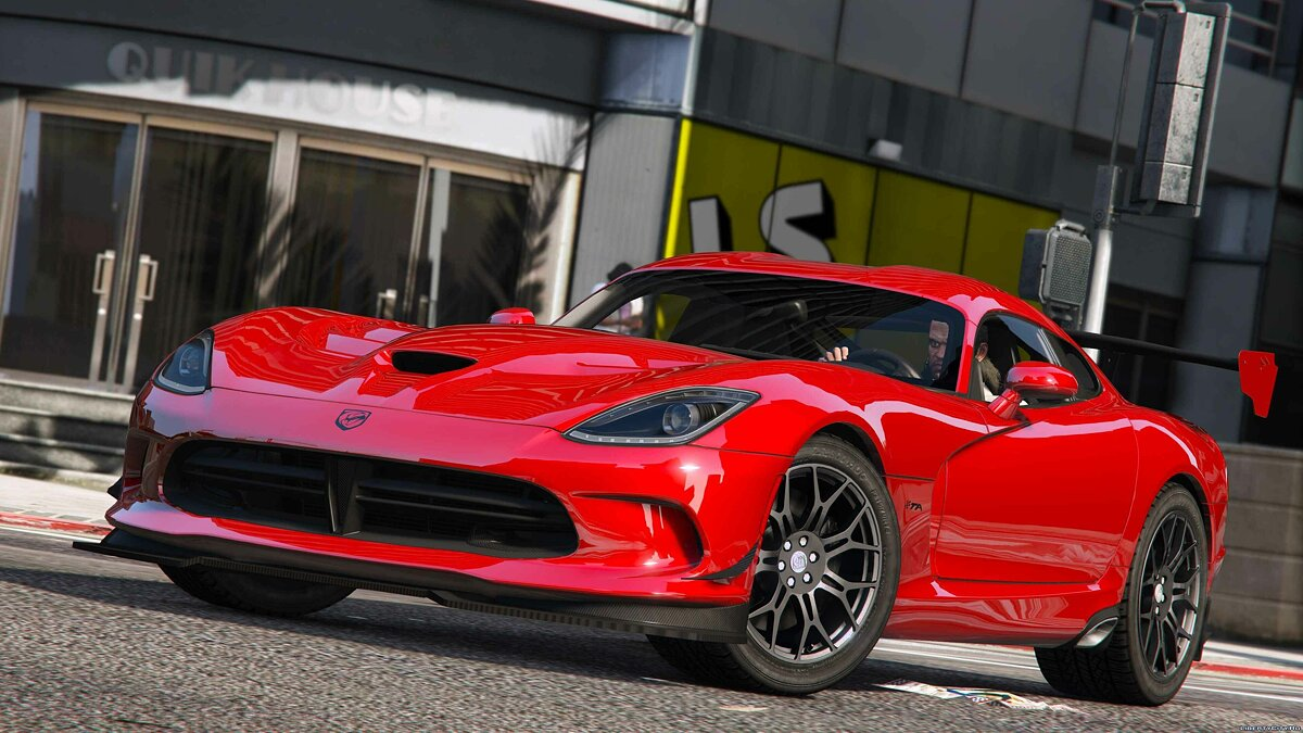 2016 SRT Viper ACR (T/A) [Add-On] для GTA 5