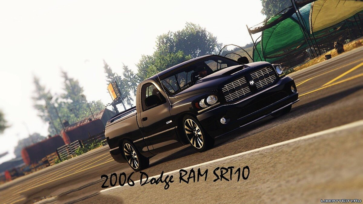 2006 Dodge RAM SRT10-Stock для GTA 5