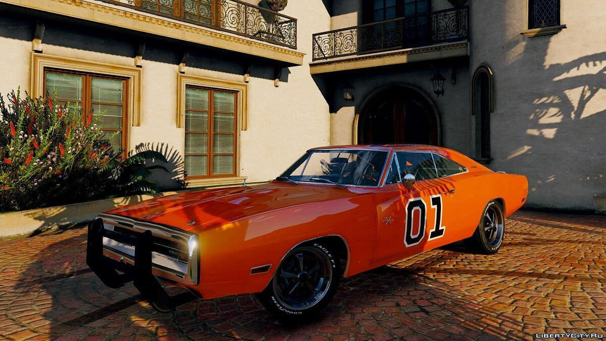 1970 Dodge Charger R/T [Tunable] 3.2 для GTA 5 - скриншот #3