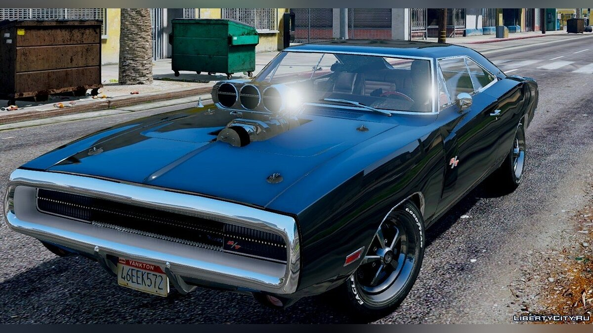 1970 Dodge Charger R/T [Tunable] 3.2 для GTA 5 - скриншот #5