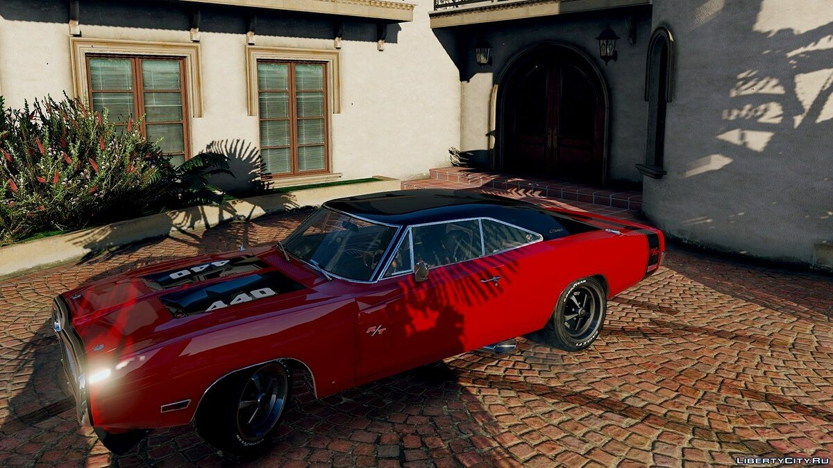 1970 Dodge Charger R/T [Tunable] 3.2 для GTA 5 - скриншот #9