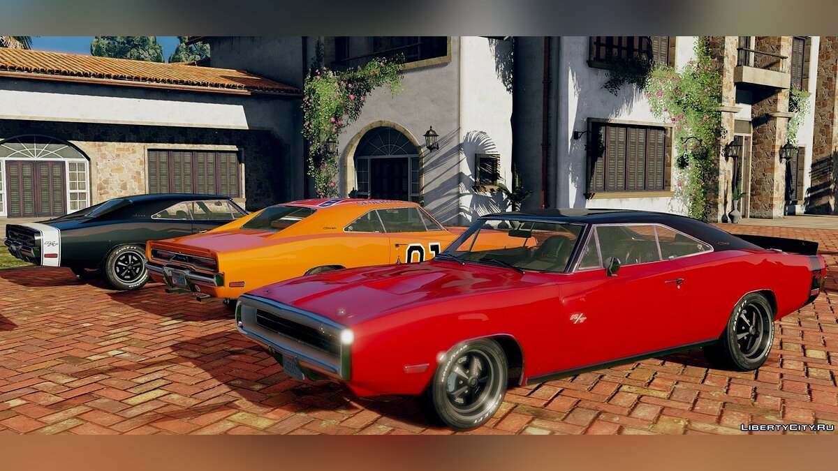 1970 Dodge Charger R/T [Tunable] 3.2 для GTA 5 - скриншот #8