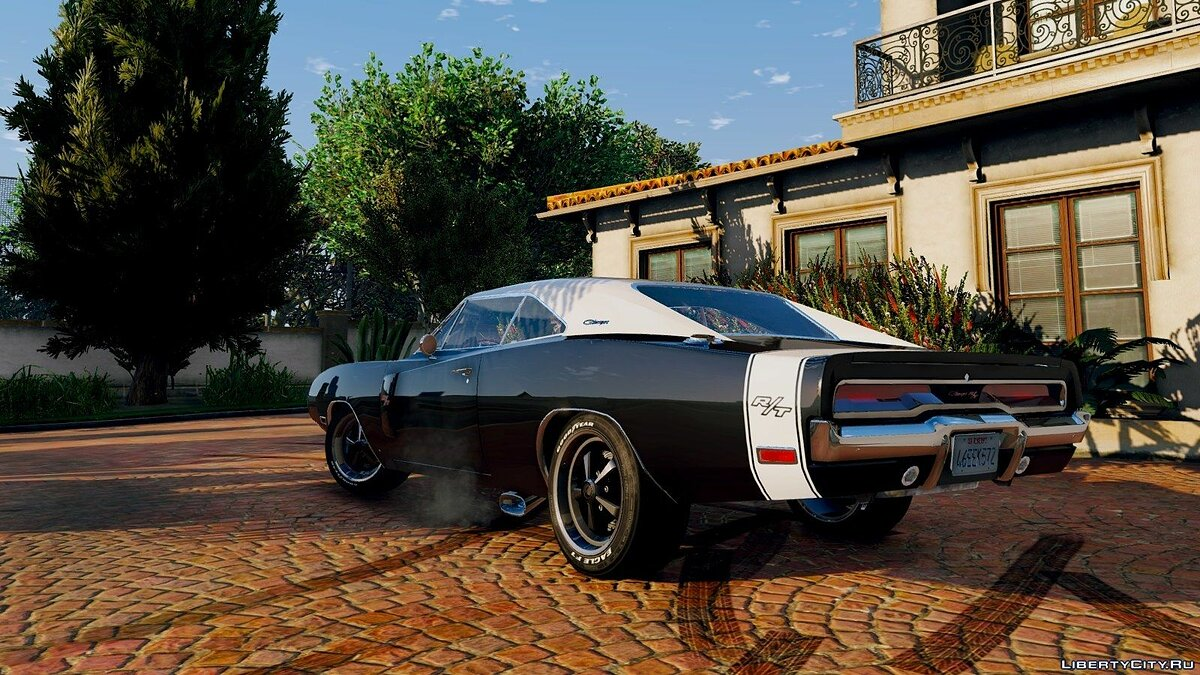 1970 Dodge Charger R/T [Tunable] 3.2 для GTA 5 - скриншот #10