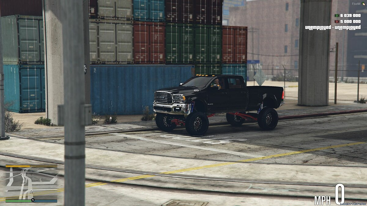 Машина Dodge 2019 Dodge Ram 3500 HD [Add-On] 1.0 для GTA 5