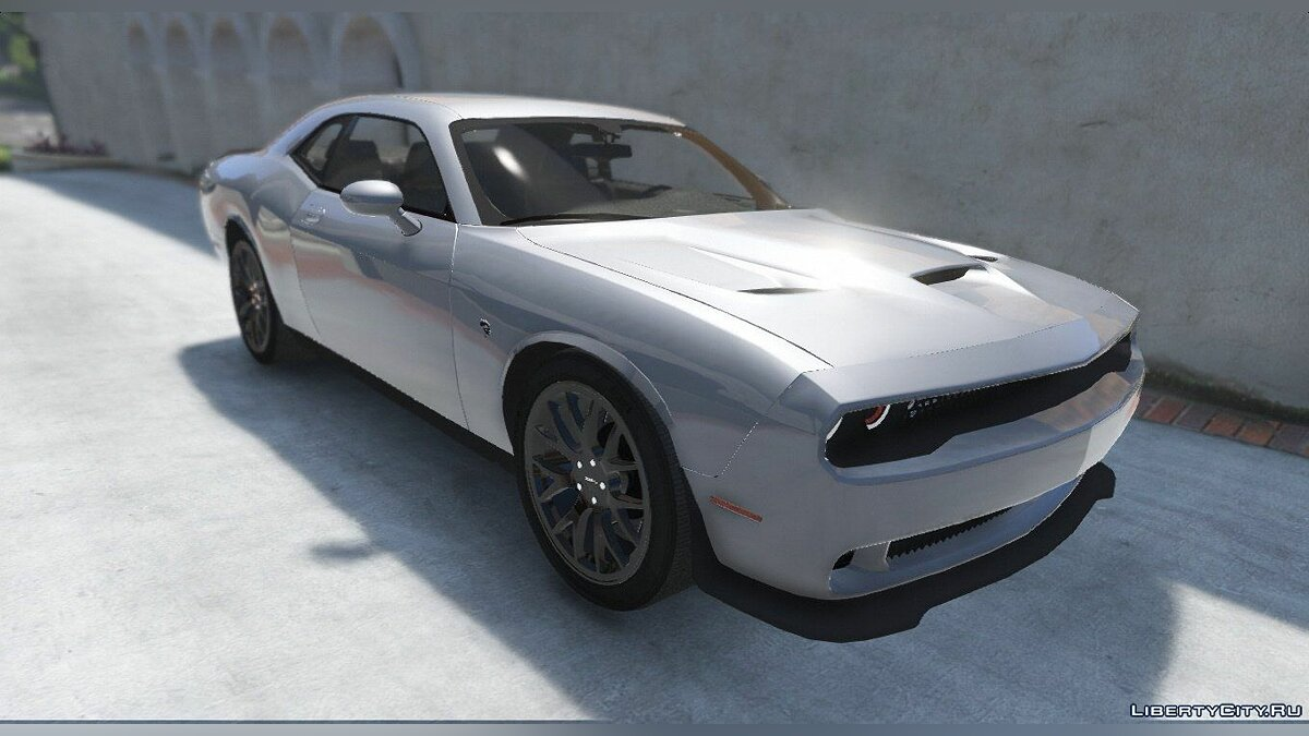 Dodge Challenger Hellcat-2016 [Add-On|Replace] [1.1] для GTA 5