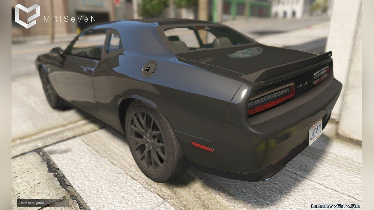 Dodge Challenger Hellcat-2016 [Add-On|Replace] [1.1] для GTA 5 - скриншот #2