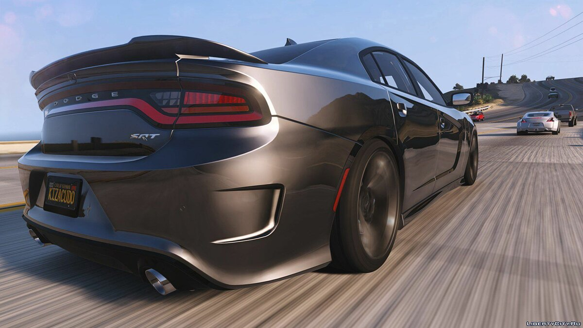 2016 Dodge Charger SRT Hellcat [Add-On | Replace | Animated | Template | Analog / Digital-Dials] 1.0 для GTA 5 - скриншот #4