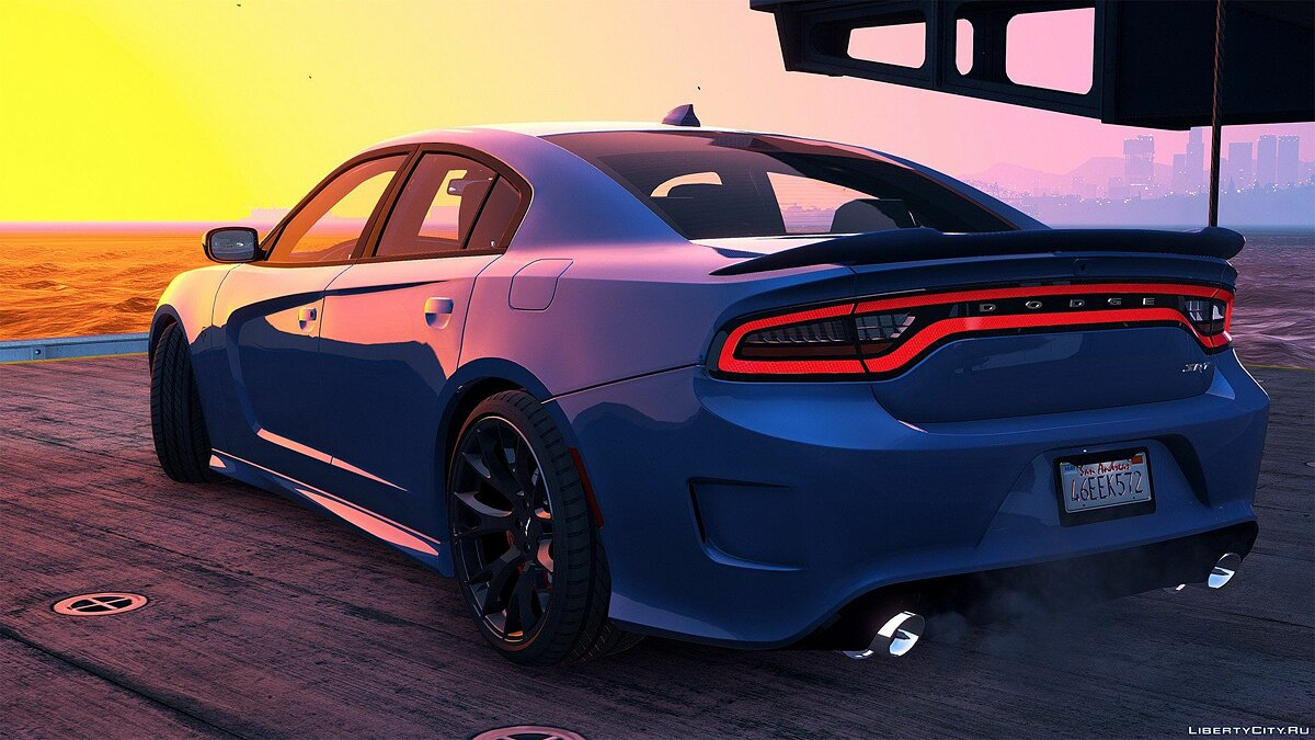 2016 Dodge Charger SRT Hellcat [Add-On | Replace | Animated | Template | Analog / Digital-Dials] 1.0 для GTA 5 - скриншот #7