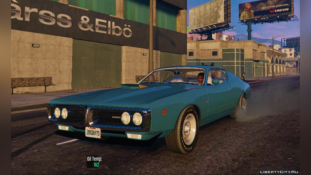 Машина Dodge 1971 Dodge Charger Superbee [Add-On | Extras] 3.0 для GTA 5