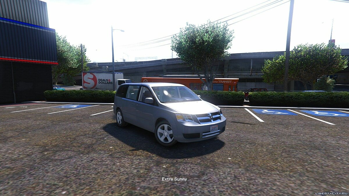 Dodge Grand Caravan SXT 2008 [Add-On / Replace] для GTA 5 - скриншот #7
