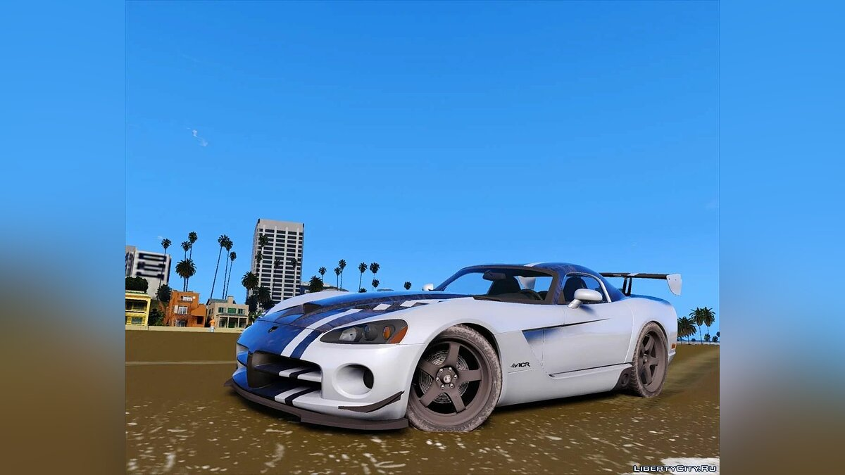 Машина Dodge Dodge Viper 2008 [Add-On | Extras] 1.0 для GTA 5