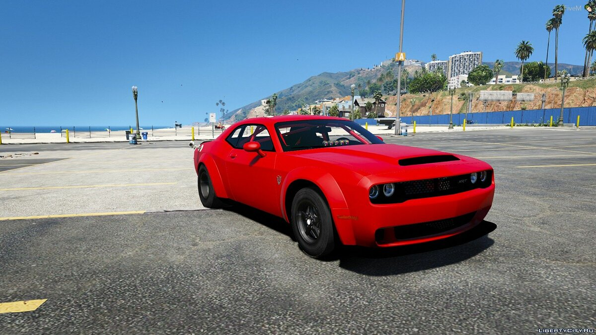 Машина Dodge Dodge Demon Drag Car [Add-On | FiveM] 1.0 для GTA 5