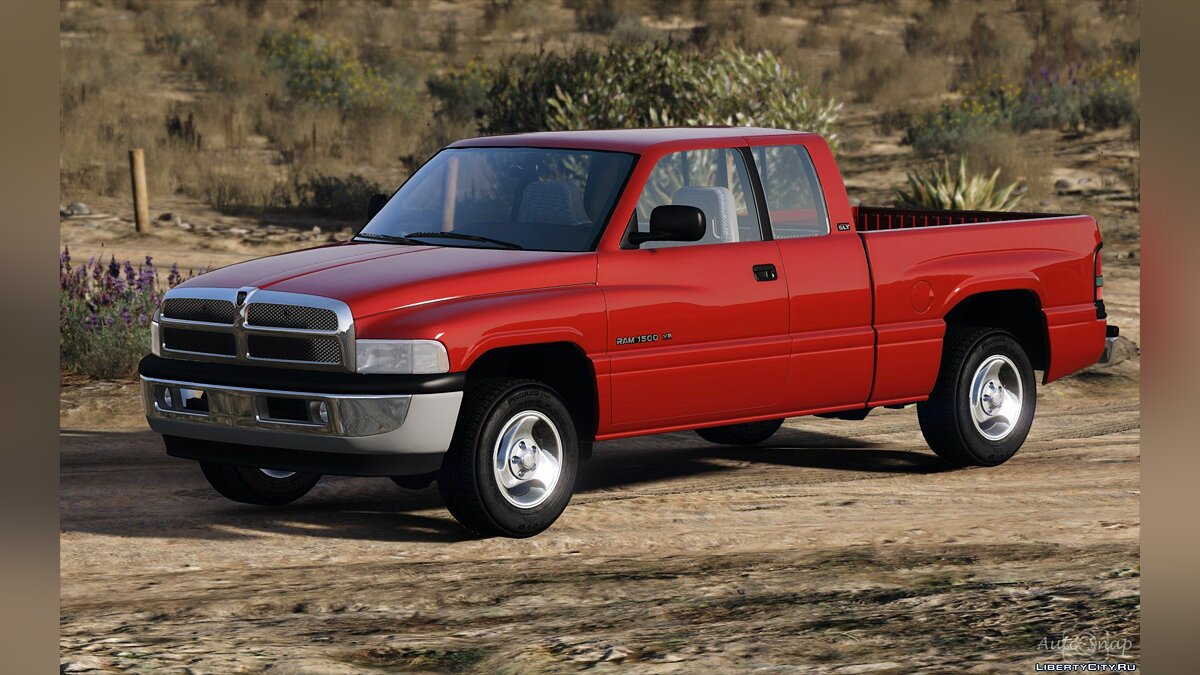 1999 Dodge Ram 1500 Club Cab [Add-On / Replace] 1.3.1 [WIP] для GTA 5