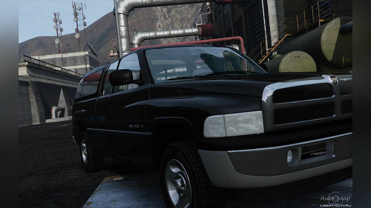1999 Dodge Ram 1500 Club Cab [Add-On / Replace] 1.3.1 [WIP] для GTA 5 - скриншот #3