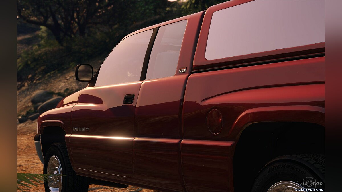 Машина Dodge 1999 Dodge Ram 1500 Club Cab [Add-On / Replace] 1.3.1 [WIP] для GTA 5