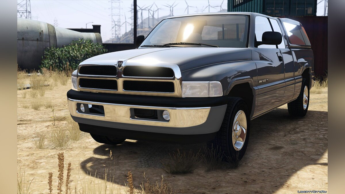 1999 Dodge Ram 1500 Club Cab [Add-On / Replace] 1.3.1 [WIP] для GTA 5 - скриншот #7