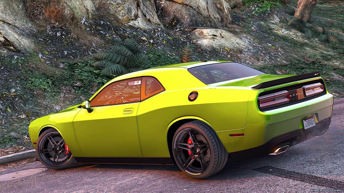 Dodge Challenger 2015 [Add-On / Replace | Animated | Template] 1.0b для GTA 5 - скриншот #8