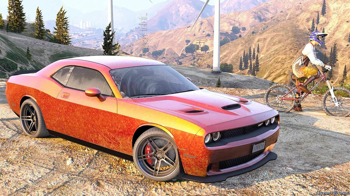 Dodge Challenger 2015 [Add-On / Replace | Animated | Template] 1.0b для GTA 5 - скриншот #9