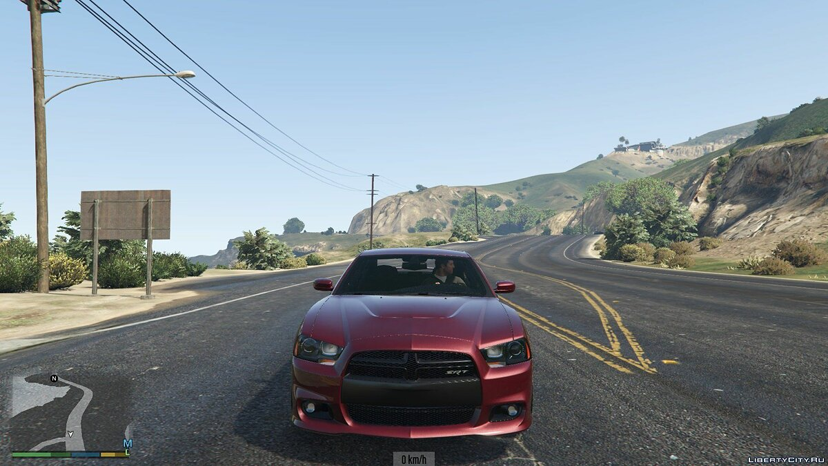 2012 Dodge Charger SRT8 1.0 для GTA 5 - скриншот #3