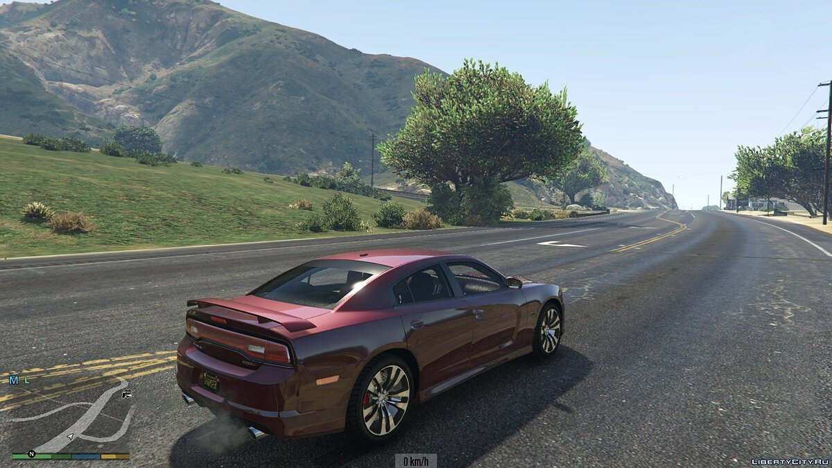 2012 Dodge Charger SRT8 1.0 для GTA 5 - скриншот #5