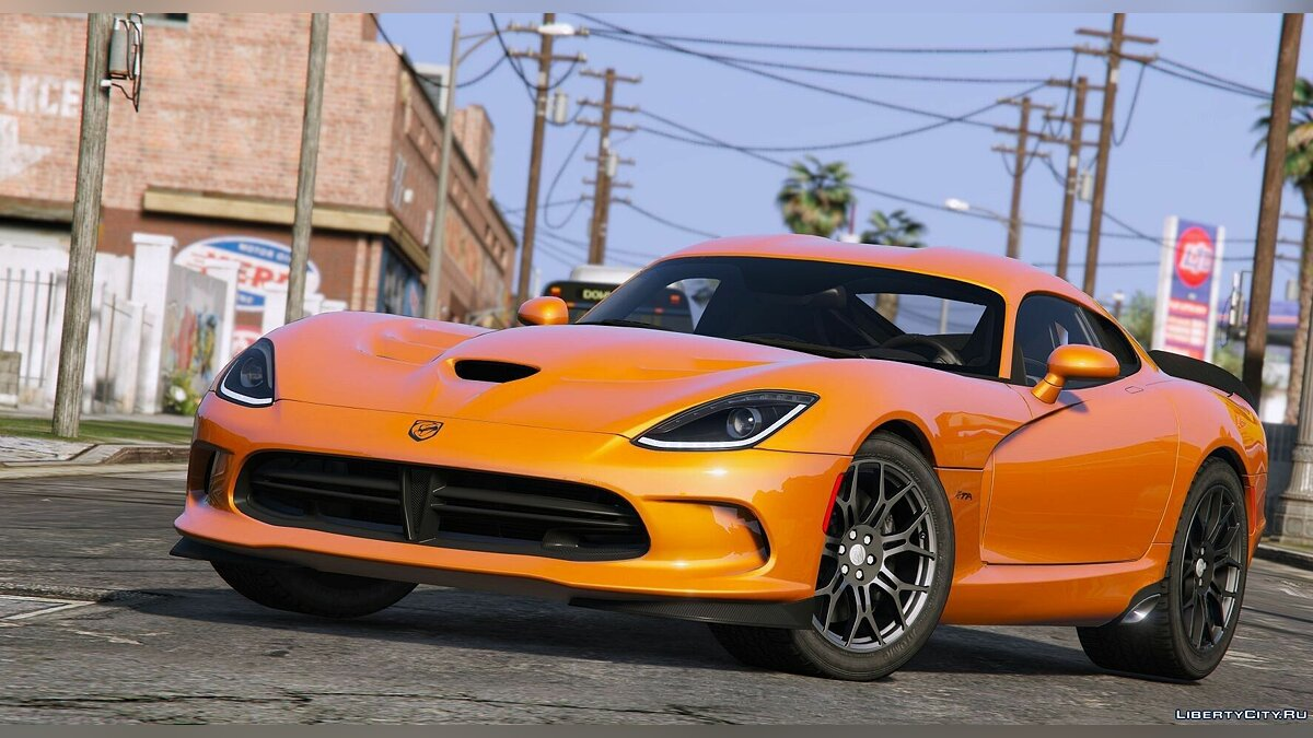 2014 SRT VIPER T/A[Add-On] для GTA 5 - скриншот #3