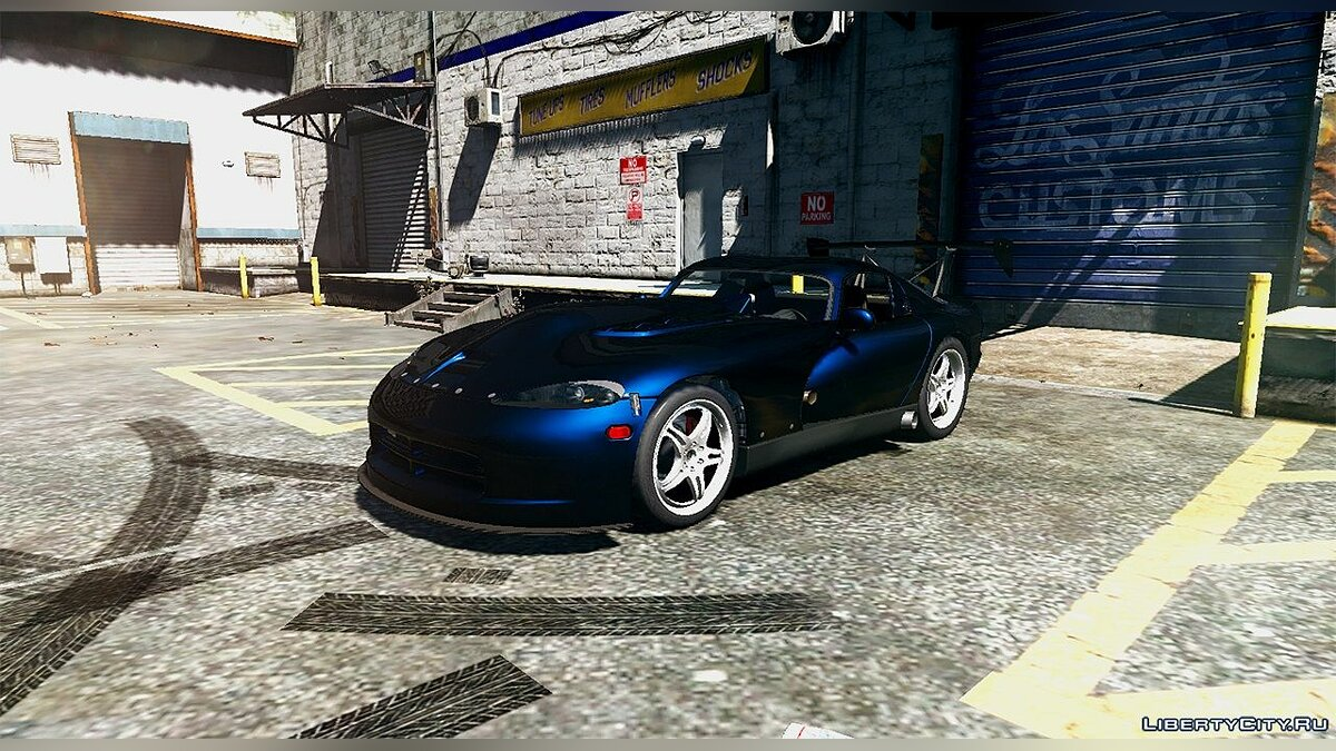 1997 Twins Turbo Motorsport Dodge Viper GTS 1.1 для GTA 5