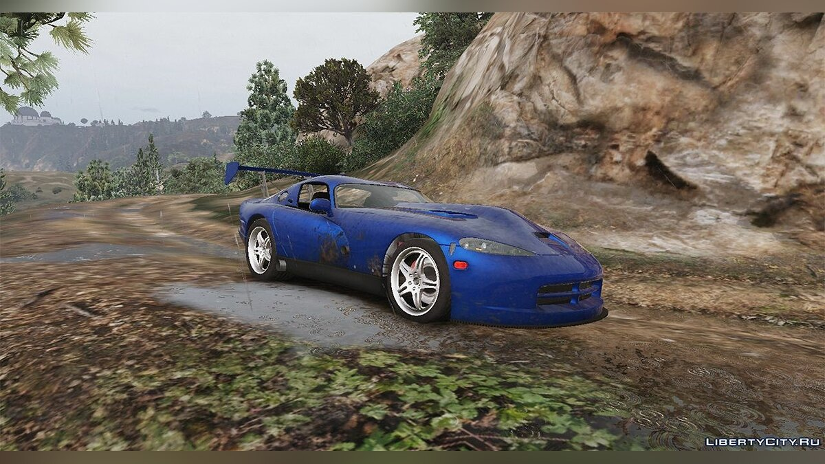 1997 Twins Turbo Motorsport Dodge Viper GTS 1.1 для GTA 5 - скриншот #5