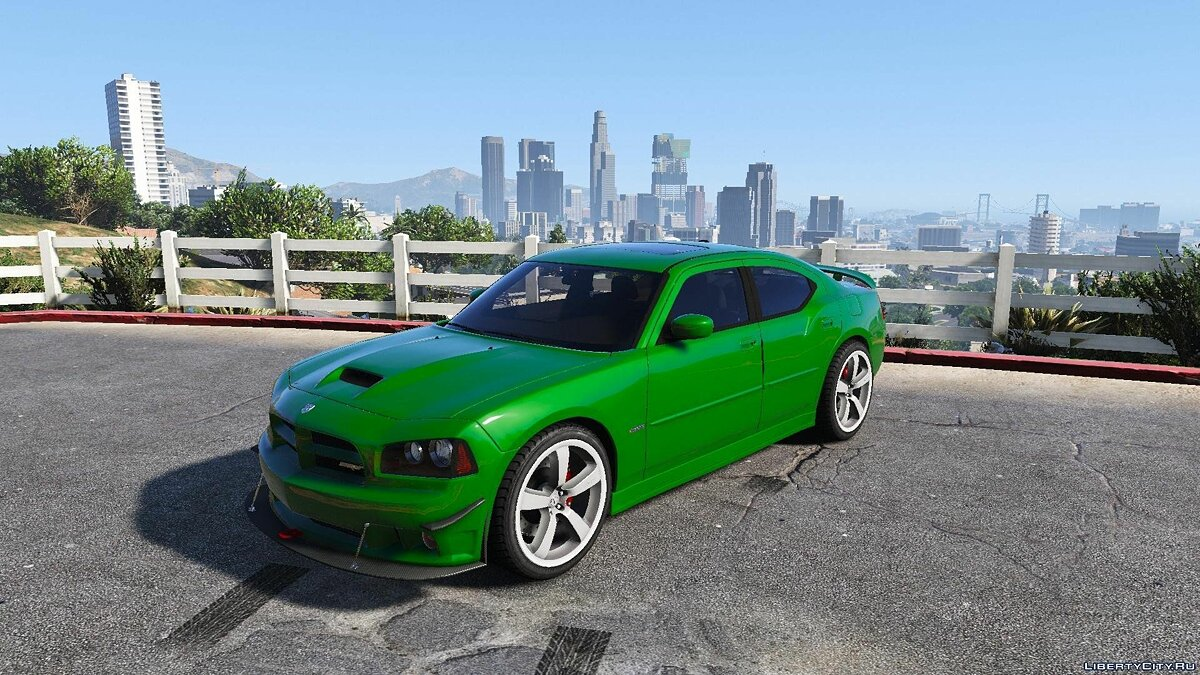 Dodge Charger SRT 8 F&F [Add-On / Tunable] для GTA 5