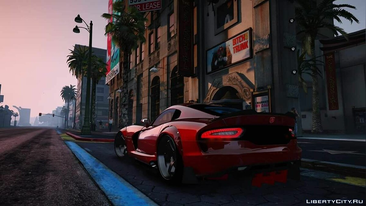 Машина Dodge Dodge Viper SRT RGMODS Replace 1.0 для GTA 5