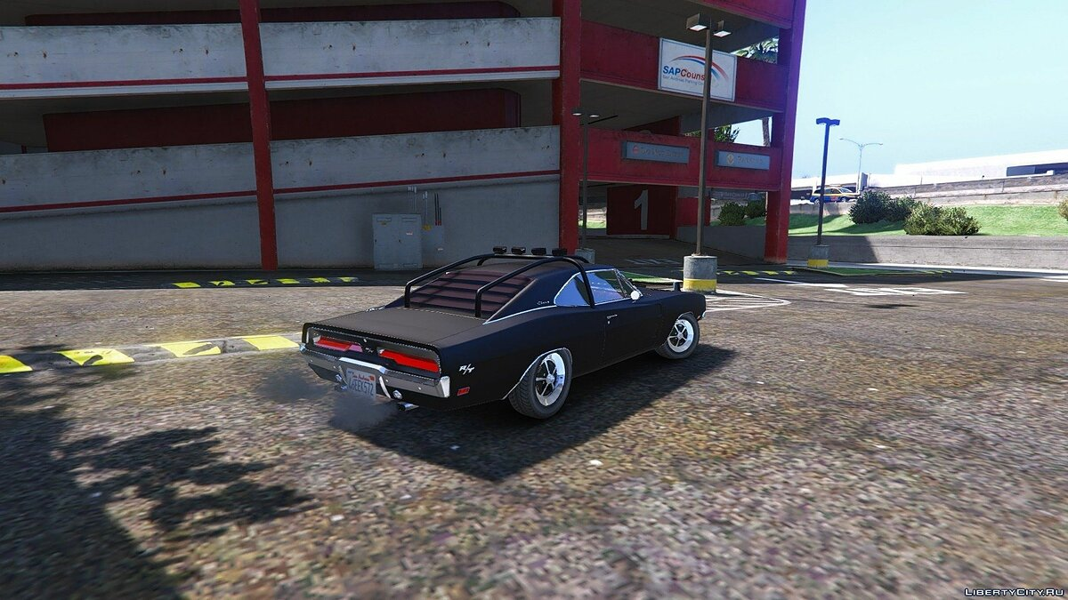 Dodge Charger O Death 1969 [Add-On / Replace] 1.2 для GTA 5 - скриншот #3