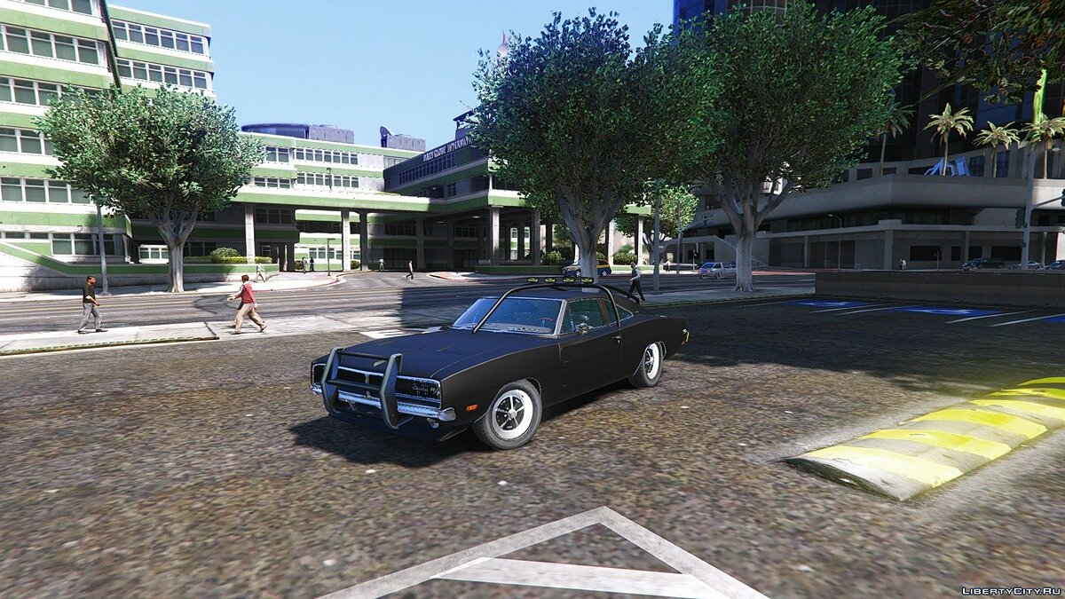 Dodge Charger O Death 1969 [Add-On / Replace] 1.2 для GTA 5