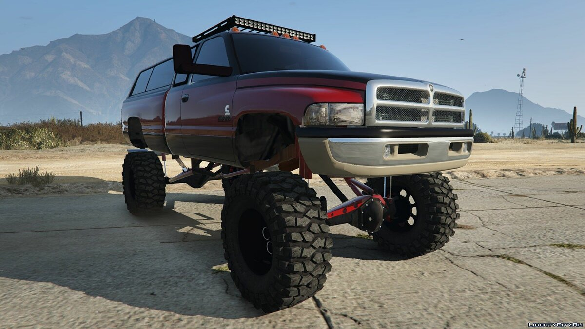 Dodge Mega Ram 3500 HD [Add-On / Replace] 1.0 для GTA 5