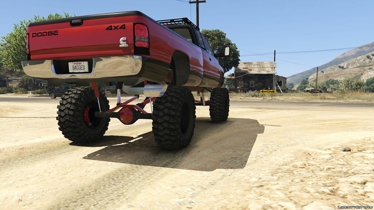 Dodge Mega Ram 3500 HD [Add-On / Replace] 1.0 для GTA 5 - скриншот #5