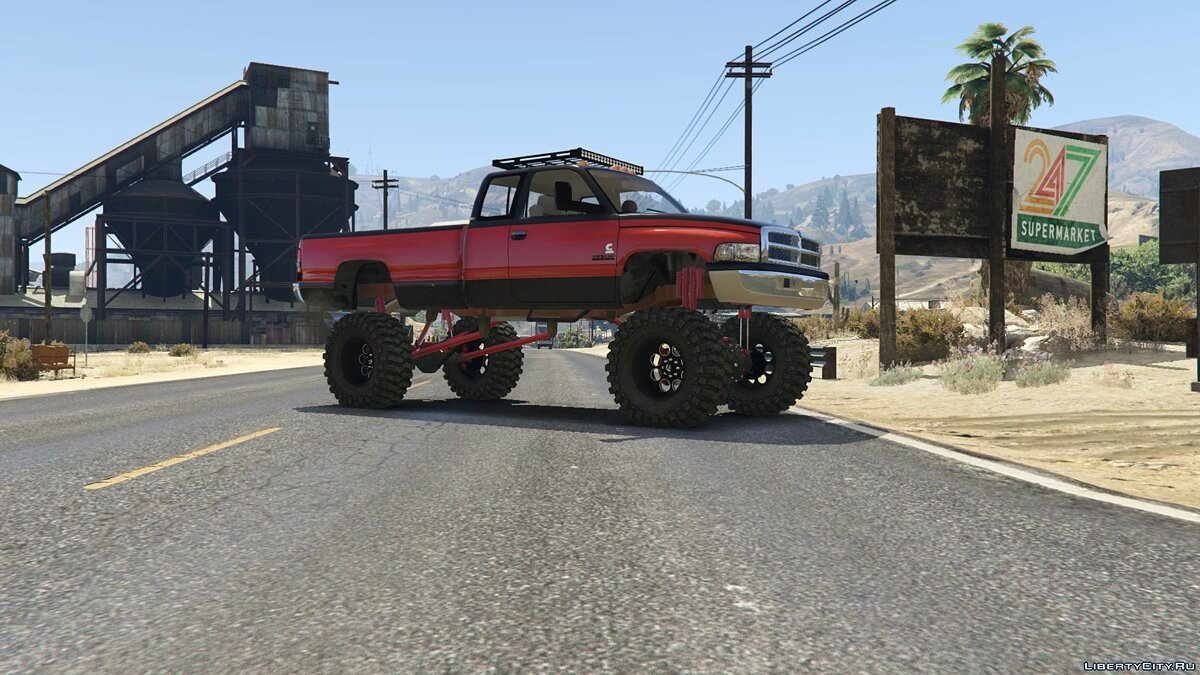 Dodge Mega Ram 3500 HD [Add-On / Replace] 1.0 для GTA 5 - скриншот #6