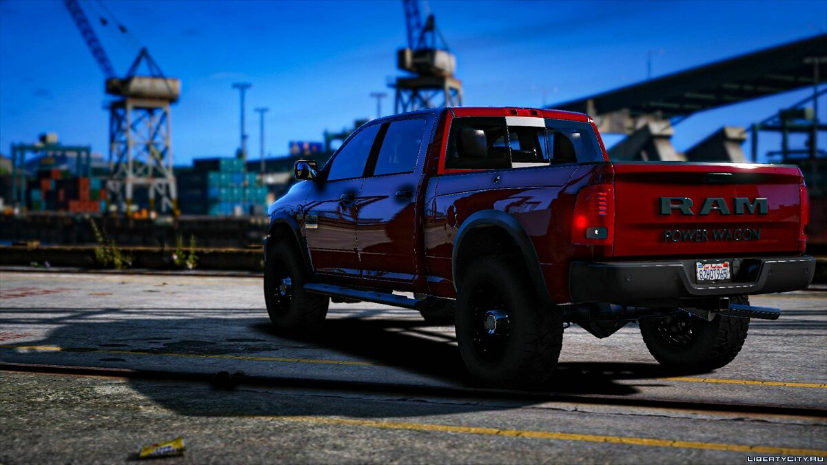 Машина Dodge Dodge Ram 2500 Power Wagon для GTA 5