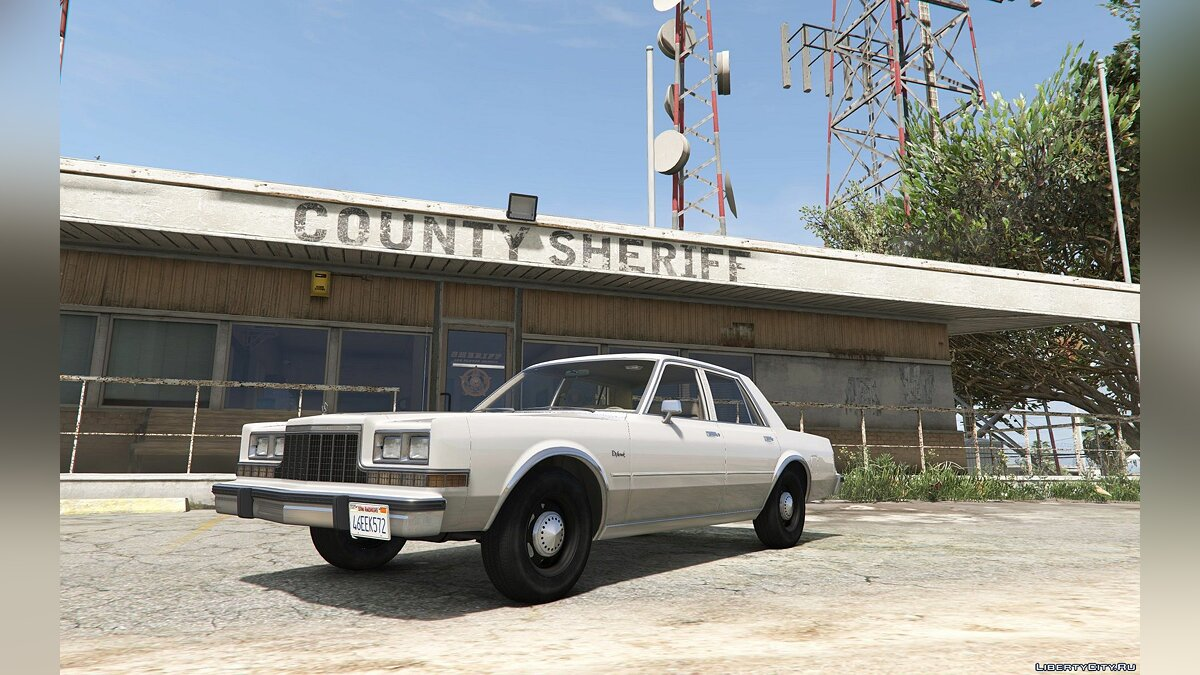 Машина Dodge 1983 Dodge Diplomat [Add-On/Replace] 2.1 для GTA 5
