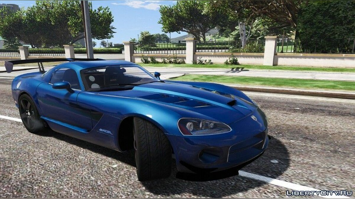 Dodge Viper SRT-10 ACR [Add-On | Template | Livery] 0.5 [BETA] для GTA 5