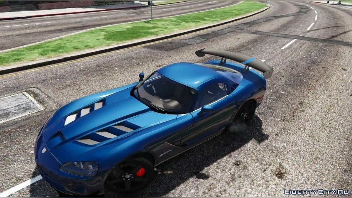 Dodge Viper SRT-10 ACR [Add-On | Template | Livery] 0.5 [BETA] для GTA 5 - скриншот #2