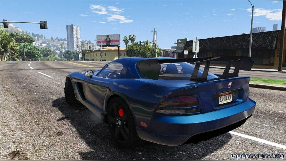 Dodge Viper SRT-10 ACR [Add-On | Template | Livery] 0.5 [BETA] для GTA 5 - скриншот #3