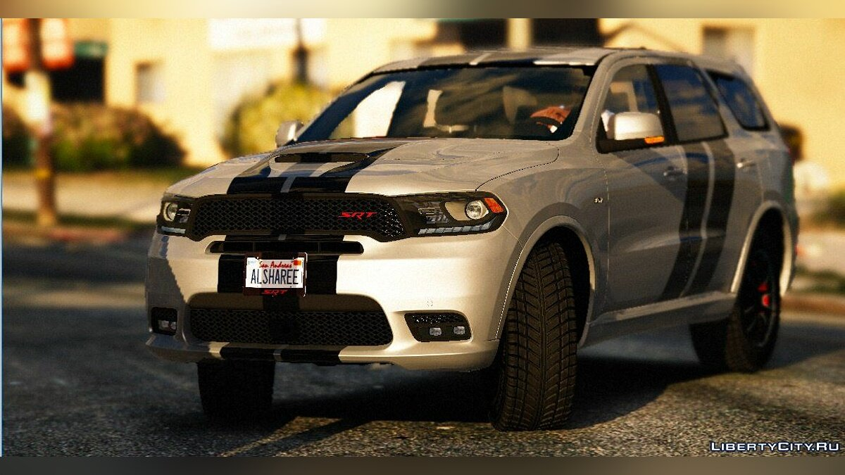 Машина Dodge 2018 Dodge Durango SRT HD [Replace] 1.5 для GTA 5