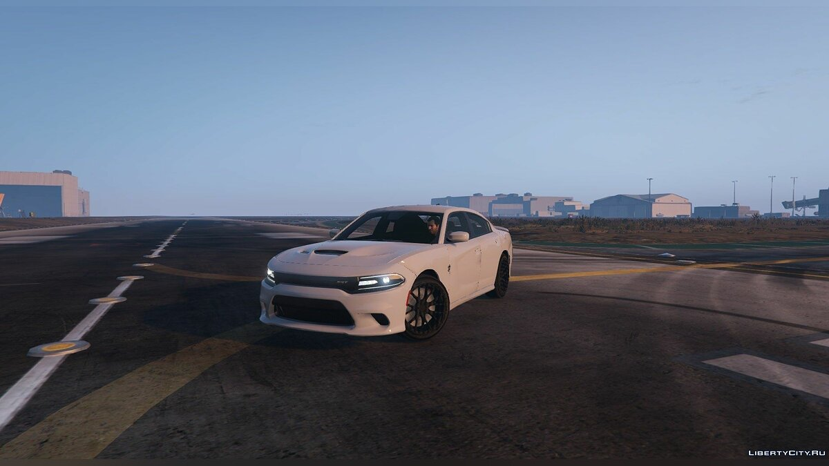 2015 Dodge Charger Hellcat SRT [Add-on / Replace] 1.5 для GTA 5