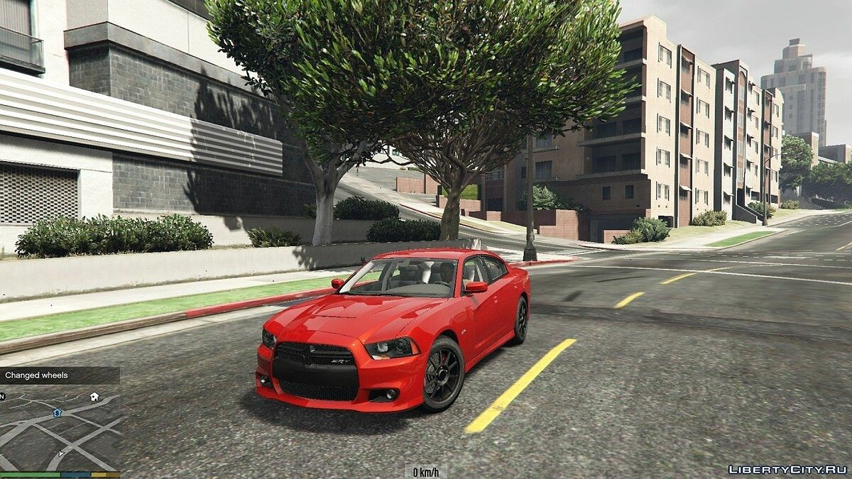 Dodge Charger SRT8 2012 v0.9 для GTA 5 - скриншот #2