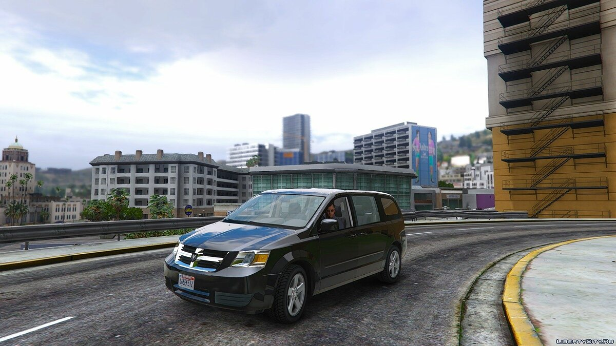 Dodge Grand Caravan SXT 2008 [Add-On / Replace] 1.2 для GTA 5
