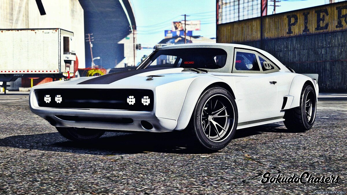 Dodge Charger Fast & Furious 8 [ADDON-REPLACE-HQ] 1.3 для GTA 5