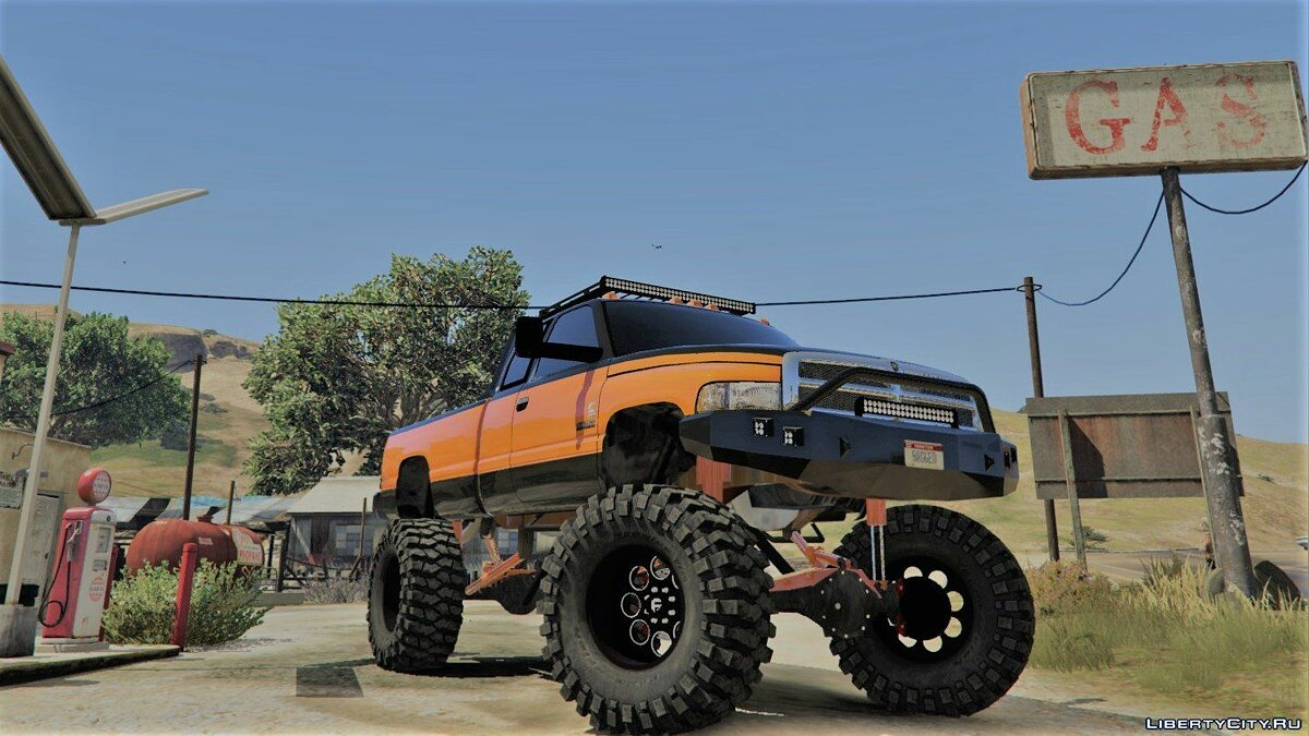 Dodge Mega Ram 3500 HD [Add-On / Replace] 1.1 для GTA 5