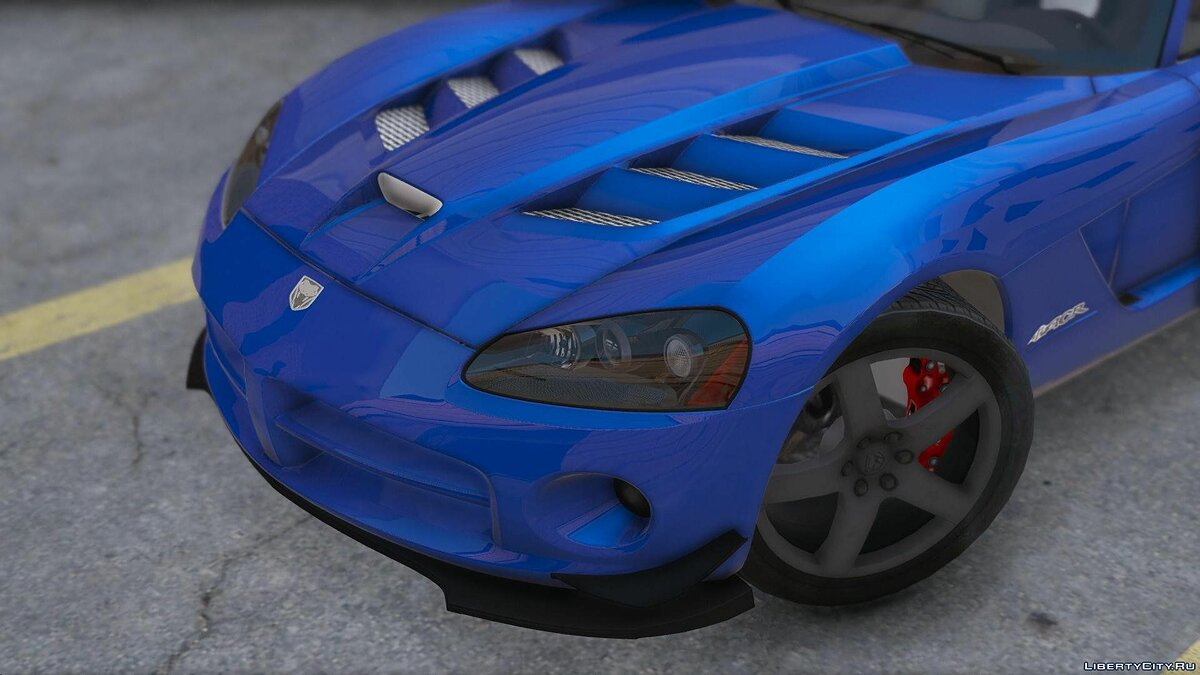 Dodge Viper SRT-10 [Add-On] 0.1 [BETA] для GTA 5