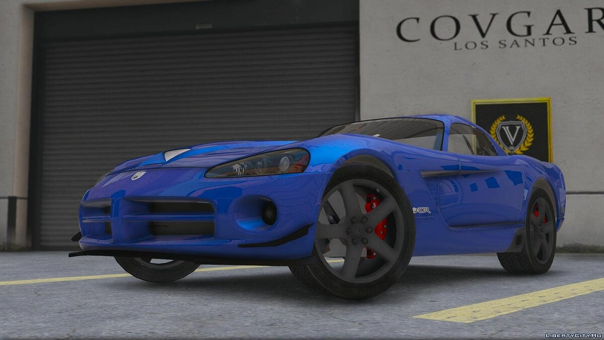 Dodge Viper SRT-10 [Add-On] 0.1 [BETA] для GTA 5 - скриншот #2