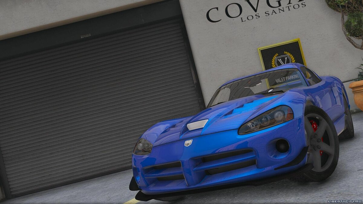 Dodge Viper SRT-10 [Add-On] 0.1 [BETA] для GTA 5 - скриншот #3
