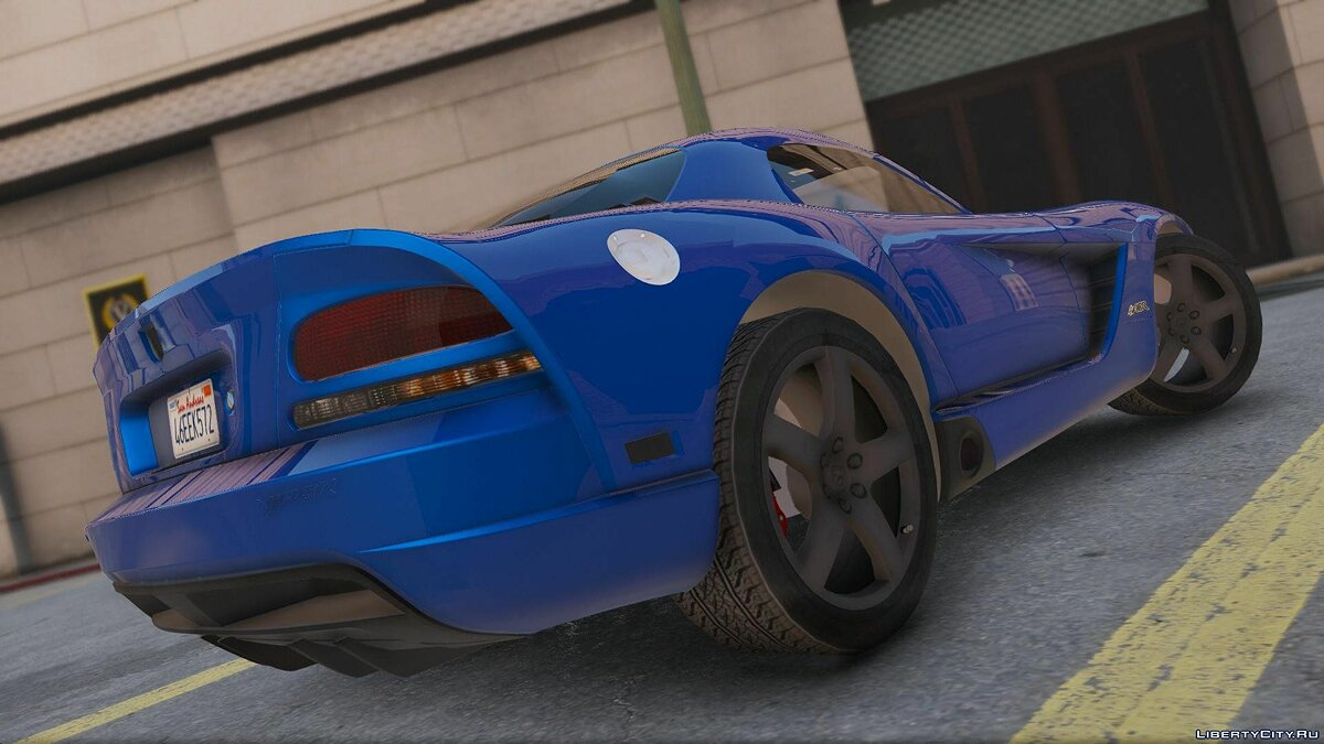 Dodge Viper SRT-10 [Add-On] 0.1 [BETA] для GTA 5 - скриншот #4