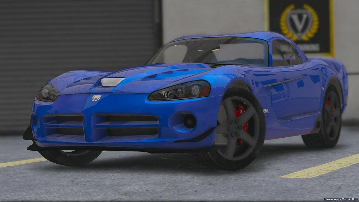 Dodge Viper SRT-10 [Add-On] 0.1 [BETA] для GTA 5 - скриншот #8